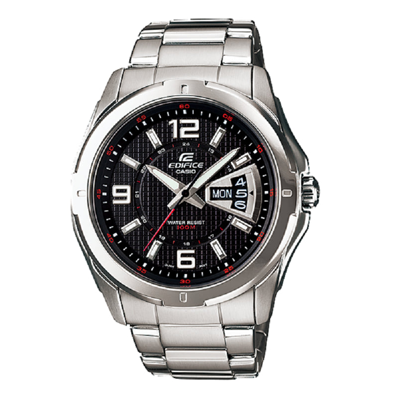 Casio Edifice 3-Hand EF-129D-1A Watch (New With Tags)