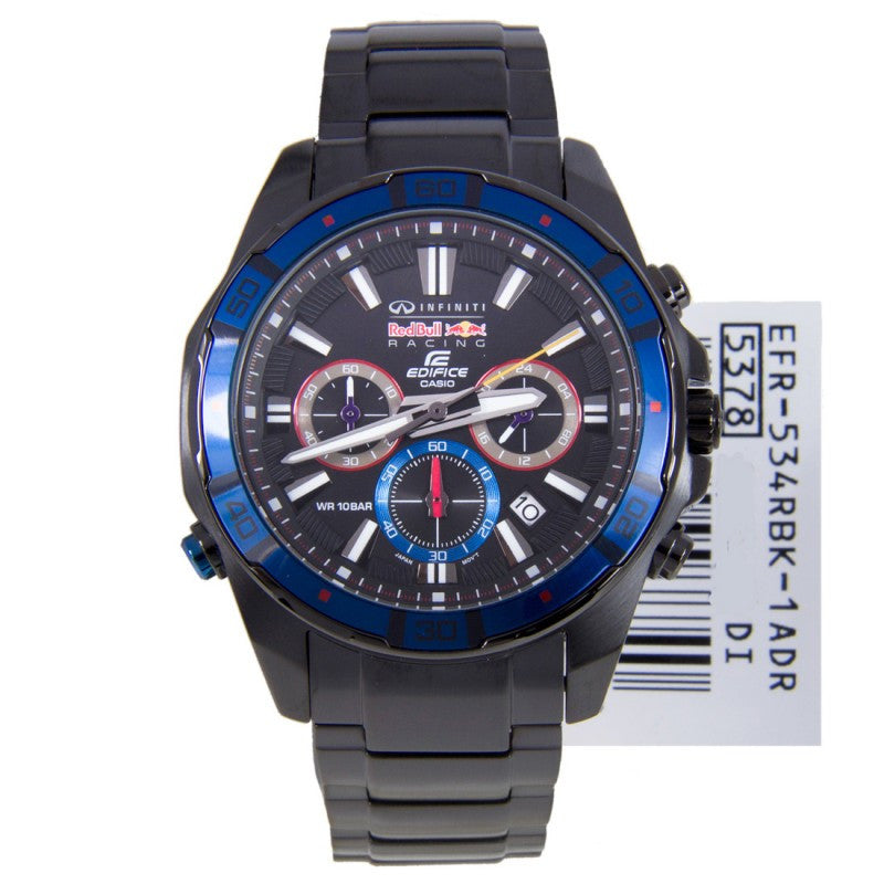 Casio Edifice Infiniti EFR-534RBK-1A Watch (New with Tags)