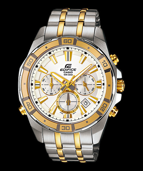 Casio Edifice Chronograph EFR-534SG-7A Watch (New With Tags)