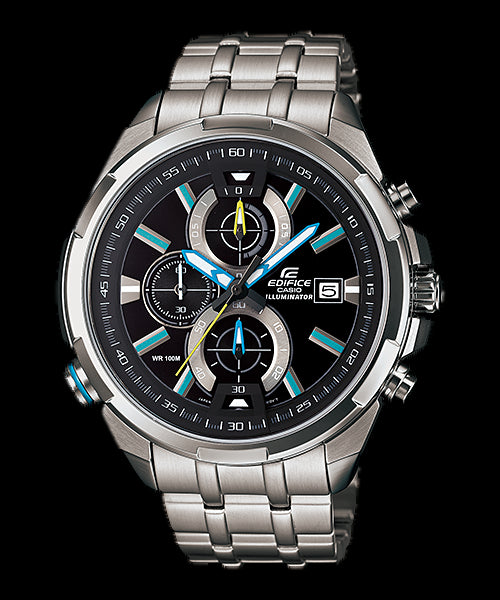 Casio Edifice Chronograph EFR-536D-1A2 Watch (New With Tags)
