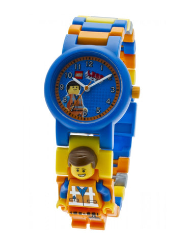 Lego Movie Emmet Minifigure Link 8020219 Watch (New with Tags)