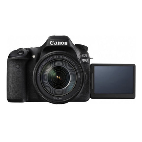 Canon EOS 80D with 18-135mm Black Digital SLR Camera