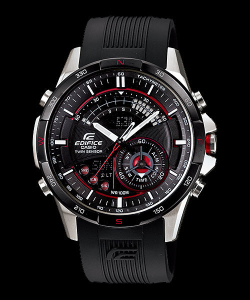 Casio Edifice Chronograph ERA-200B-1A Watch (New With Tags)