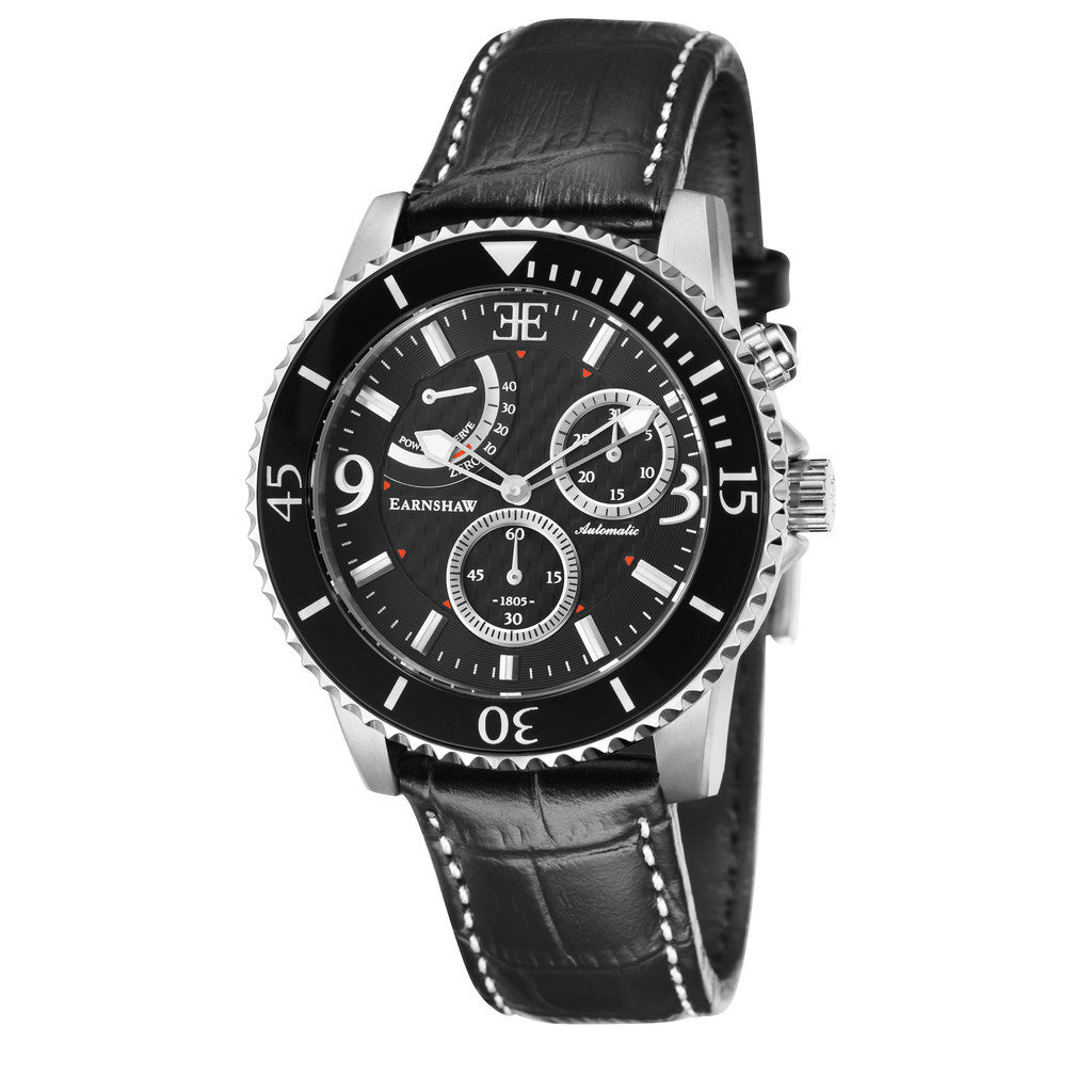 Earnshaw Admiral ES-8008-01 Watch (New with Tags)
