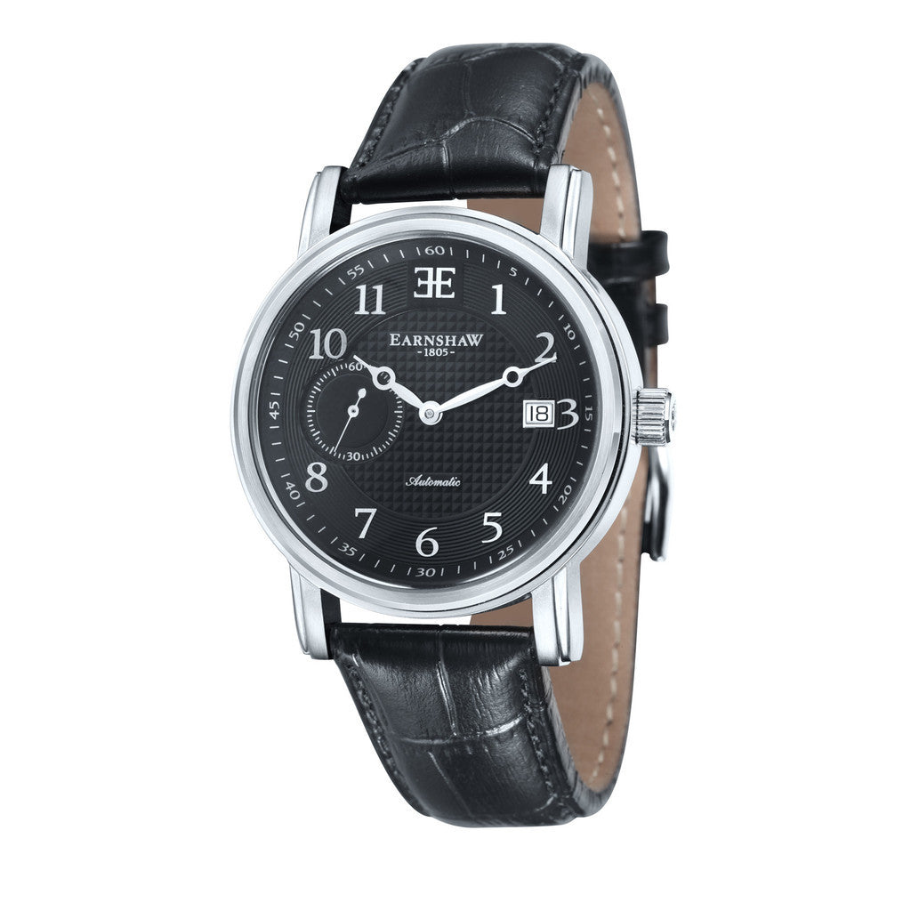 Earnshaw Fitzroy Automatic ES-8027-01 Watch (New with Tags)