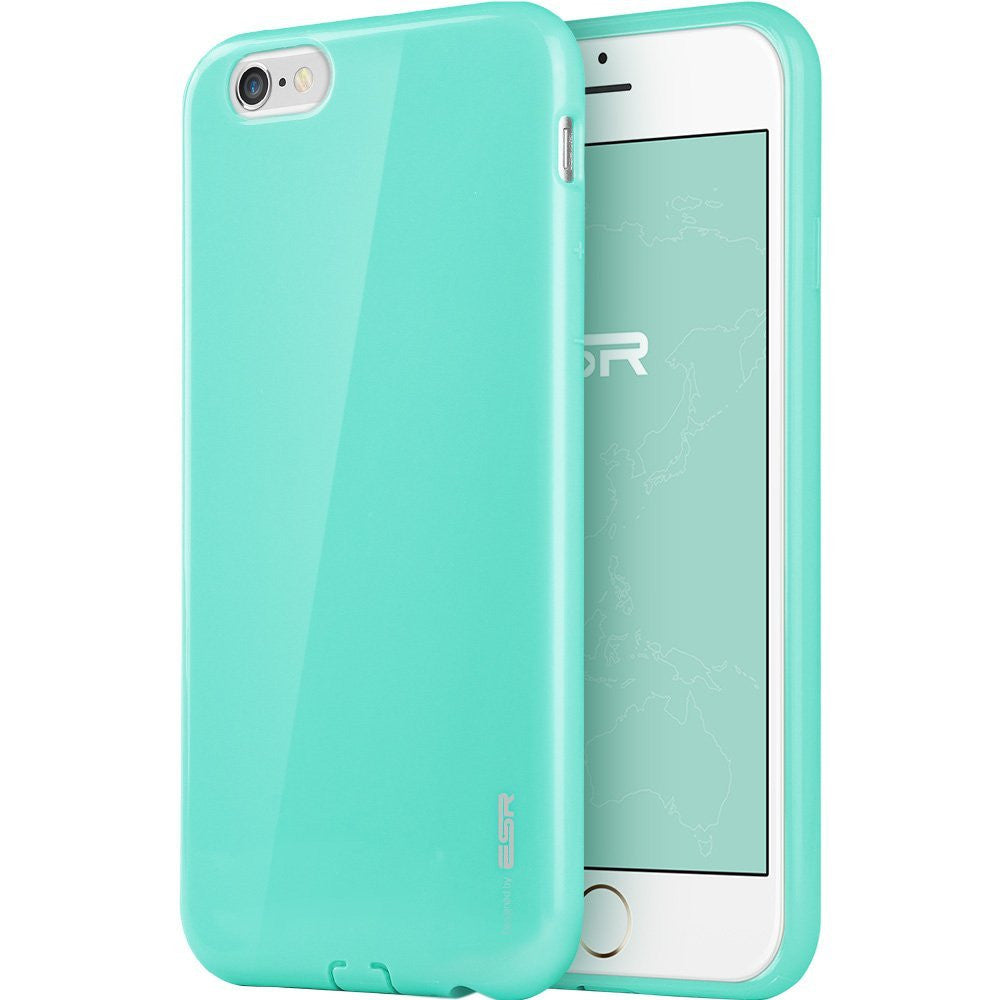 iPhone 6/6s Plus Silicon Color Case (Mint Green)