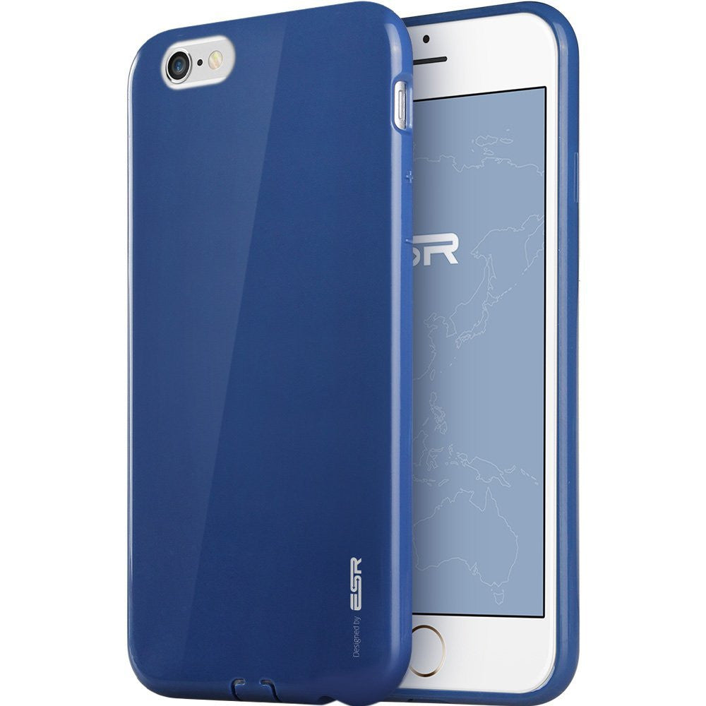 iPhone 6/6s Plus Silicon Color Case (Sailor Blue)