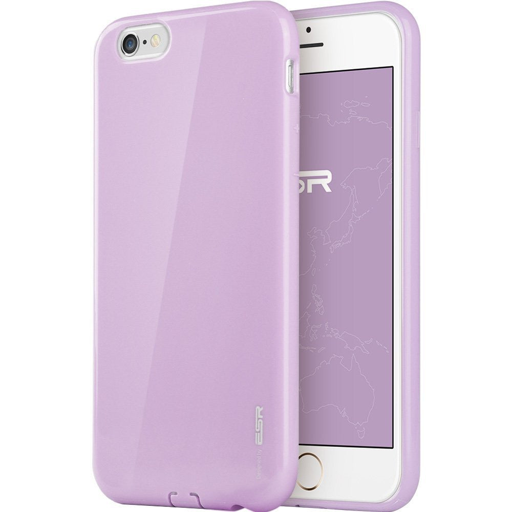 iPhone 6/6s Plus Silicon Color Case (Vibrant Purple)