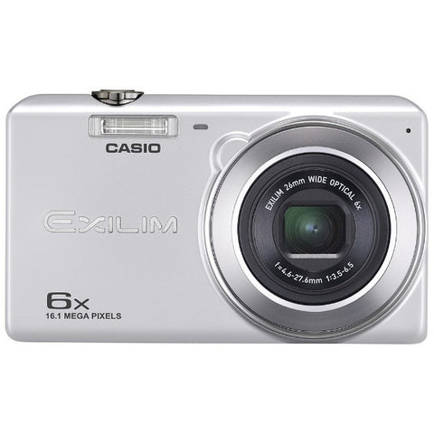 Casio ELIXIM EX-ZS27 Silver Digital Camera