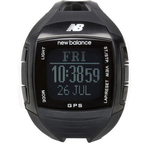 New Balance Ex2 900 NB GPS Black Running Watch
