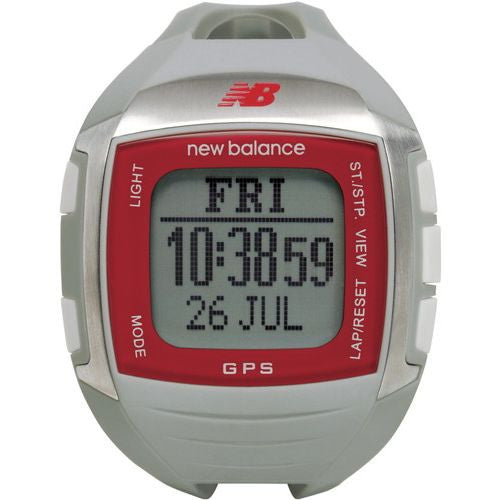 New Balance Ex2 900 NB GPS Grey/Red Running Watch