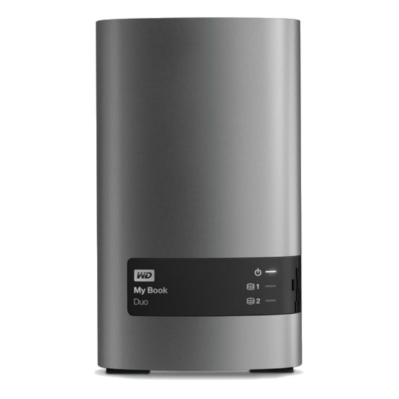 WD Elements My Book Duo USB 3.0 WDBLWE0012JCH-SESN 12TB External Hard Drive (Grey)