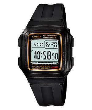 Casio Standard 10-Year Battery F-201WA-9A Watch (New with Tags)