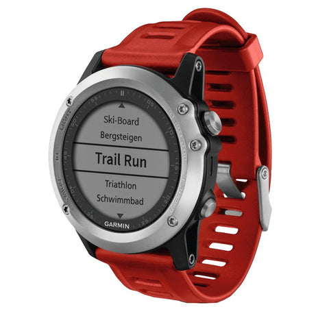 Garmin Fenix 3 Multisport Training 010-01338-06 GPS Watch (Silver)