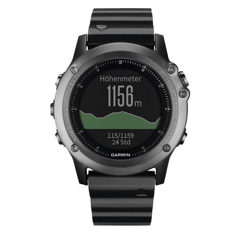Garmin Fenix 3 Sapphire Performer Bundle with HRM-Run GPS Sport Watch (Gray) 010-01338-22
