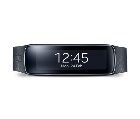 Samsung Galaxy Gear Fit SM-R3500 Charcoal Black