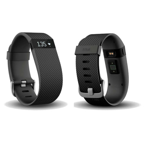 Fitbit Charge HR FB405BKL Wireless Heart Rate and Activity Wristband Large (Black)