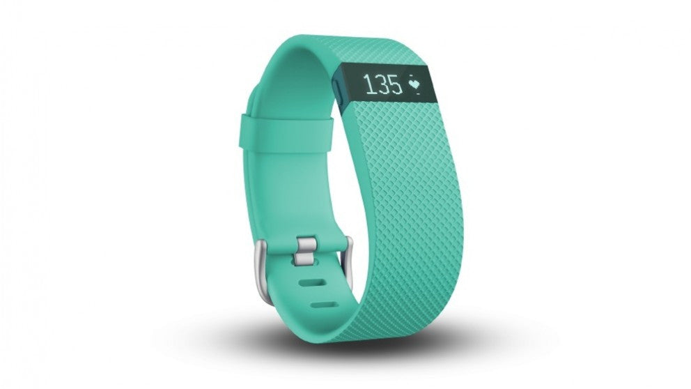 Fitbit Charge HR FB405TES Wireless Heart Rate and Acitvity Wristband Small (Teal)
