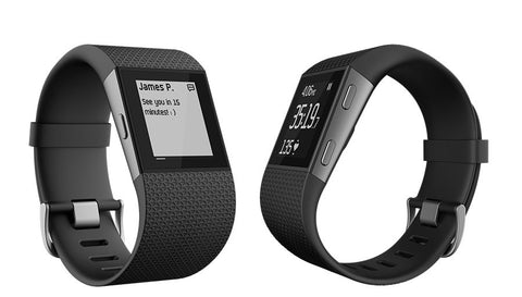 Fitbit Surge FB501BKS Fitness Super Watch Small (Black)