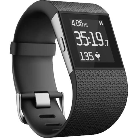 Fitbit Surge FB501BKL Fitness Super Watch Large (Black)