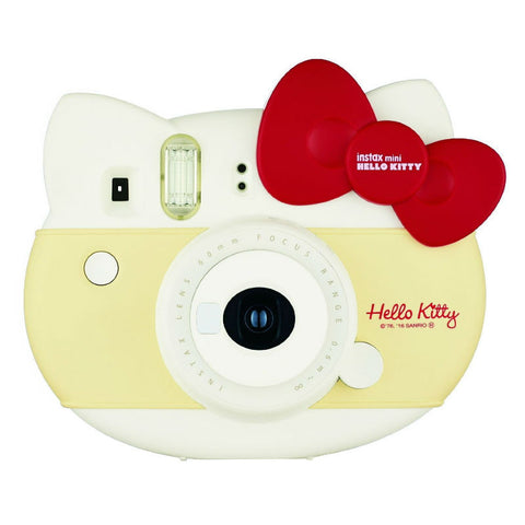 FujiFilm Instax Limited Edition Mini Hello Kitty Sanrio Instant Camera with Instax Mini (Hello Kitty) Photo Paper