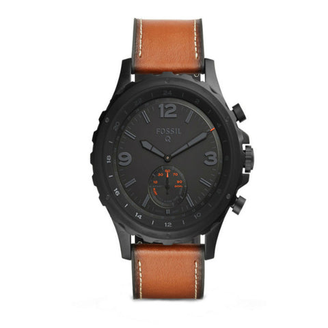 Fossil Q Nate Hybrid FTW1114 Smartwatch (Brown)