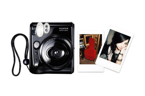 Fuji Film Instax Mini 50S Piano Black Instant Camera