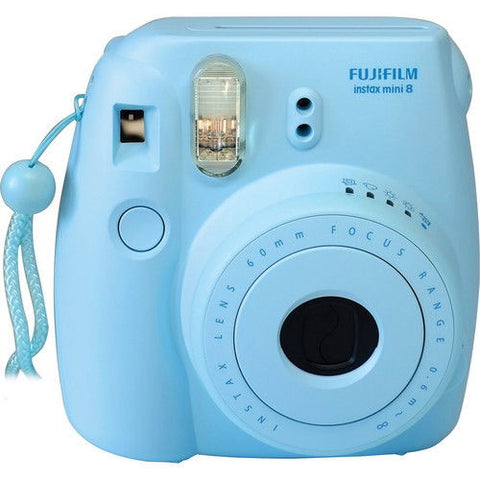 Fuji Film Instax Mini 8 Blue Instant Camera