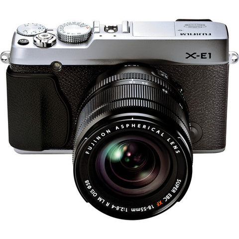 Fujifilm X-E1 Kit with 18-55mm Lens Silver Digital Camera