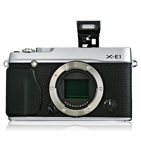 Fujifilm X-E1 Body Silver Digital Camera