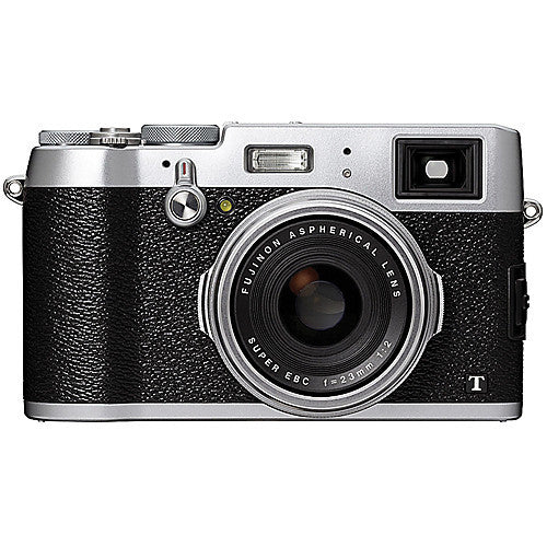 Fuji Film X100T Silver Digital Camera