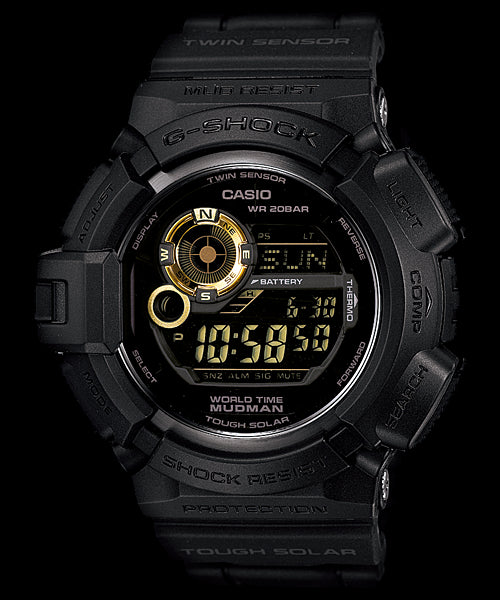 Casio G-Shock Special Color Model G-9300GB-1 Watch (New With Tags)
