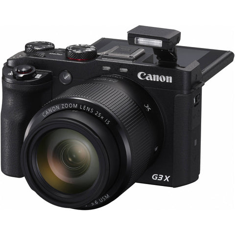 Canon PowerShot G3 X Black Digital Camera