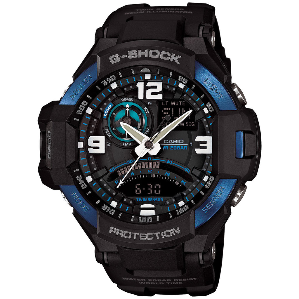 Casio G-Shock Gravitymaster GA-1000-2B Watch (New with Tags)