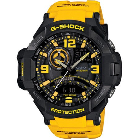 Casio G-Shock Standard Analog GA-1000-9B Watch (New with Tags)