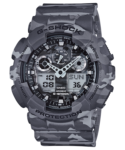 Casio G-Shock GA-100CM-8A Watch (New with Tags)