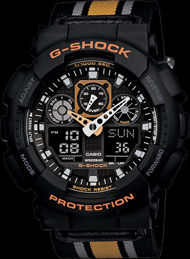 Casio G-Shock Limited Model GA-100MC-1A4 Watch (New With Tags)