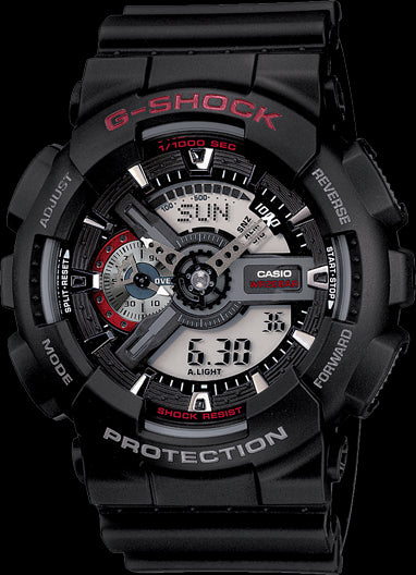 Casio G-Shock Limited Model GA-110-1A Watch (New With Tags)