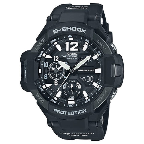 Casio G-Shock Gravitymaster GA-1100-1A Watch (New with Tags)