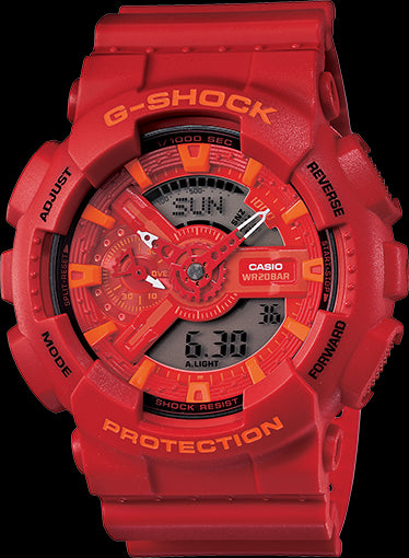 Casio G-Shock Trending GA-110AC-4A Watch (New With Tags)