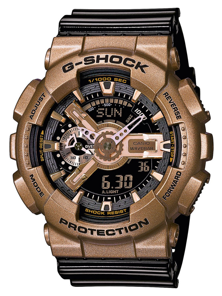 Casio G-Shock Analog-Digital GA-110GD-9B2 Watch (New with Tags)