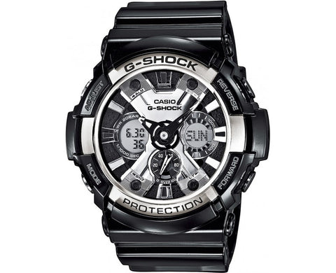 Casio G-Shock Analog-Digital GA-200BW-1A Watch (New with Tags)