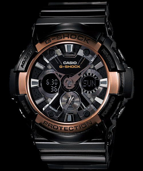 Casio G-Shock Trending GA-200RG-1A Watch (New With Tags)