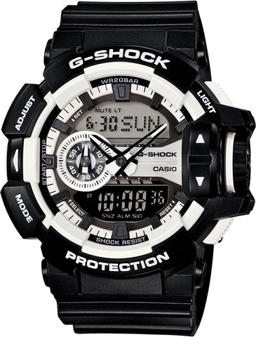 Casio G-Shock Analog-Digital GA-400-1A Watch (New with Tags)