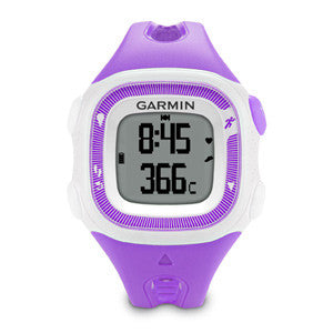 Garmin Forerunner 15 010-01241-22 Fitness Watch Violet/White