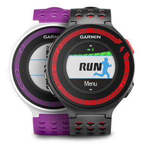 Garmin Forerunner 220 010-01147-11 Fitness Watch White/Purple