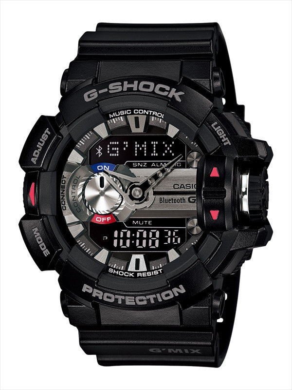Casio G-Shock G-Mix Analog-Digital GBA-400-1A Watch (New with Tags)