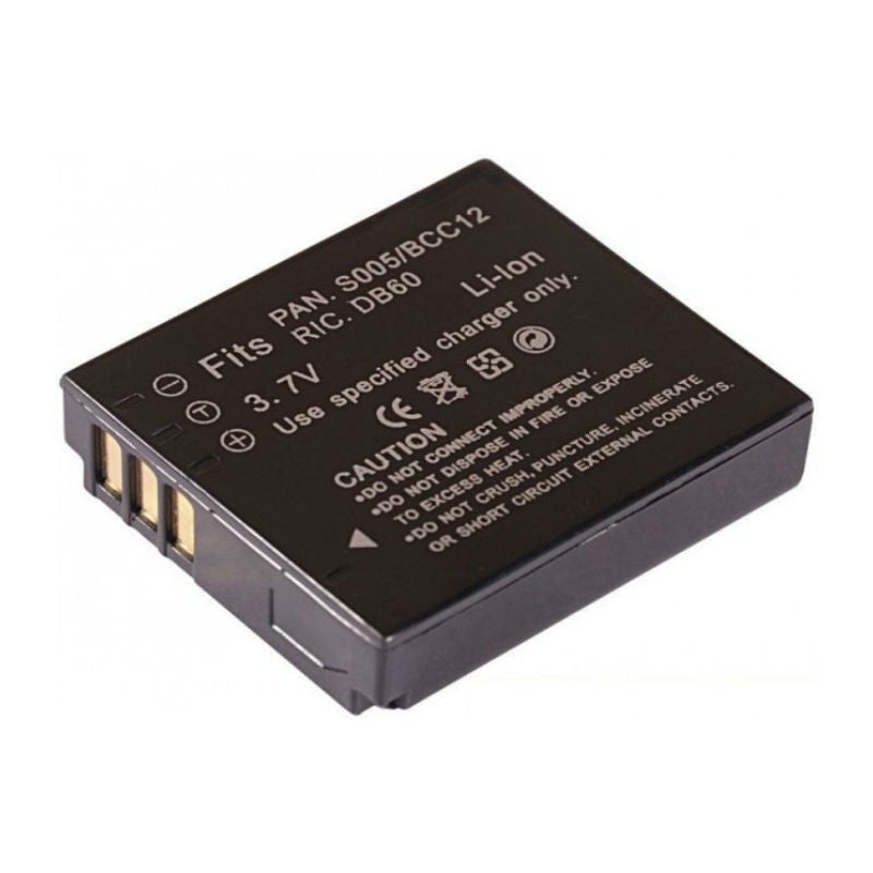 Generic DMW-BCC12/S005E Battery for Panasonic
