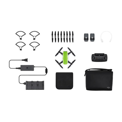 DJI Spark Fly More Combo Mini Quadcopter Drone (Meadow Green)