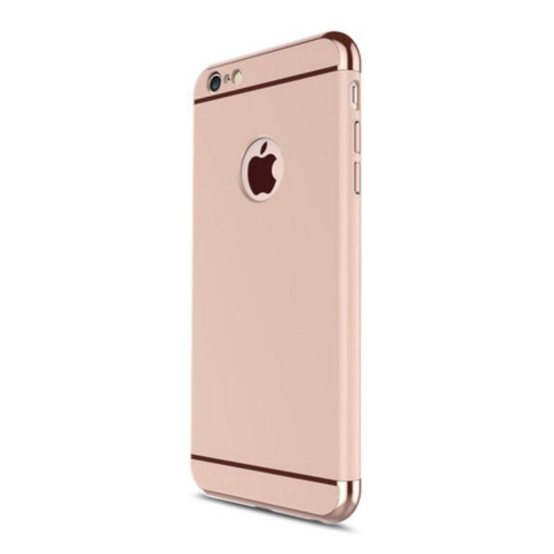 Hard Shell Case 5.5 inch for iPhone 6/6s Plus (Rose Gold Steel Film)